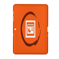 Circles Orange Samsung Galaxy Tab 2 (10.1 ) P5100 Hardshell Case