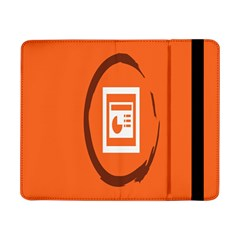 Circles Orange Samsung Galaxy Tab Pro 8 4  Flip Case