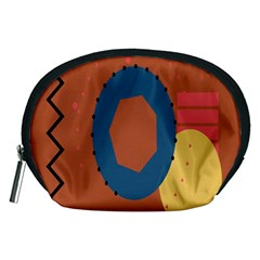 Digital Music Is Described Sound Waves Accessory Pouches (Medium)