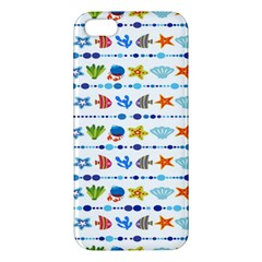 Coral Reef Fish Coral Star Apple iPhone 5 Premium Hardshell Case