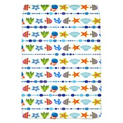 Coral Reef Fish Coral Star Flap Covers (L)