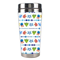 Coral Reef Fish Coral Star Stainless Steel Travel Tumblers