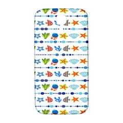 Coral Reef Fish Coral Star Samsung Galaxy S4 I9500/I9505  Hardshell Back Case