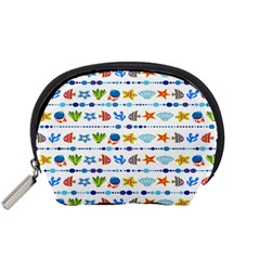 Coral Reef Fish Coral Star Accessory Pouches (Small)
