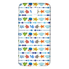 Coral Reef Fish Coral Star Samsung Galaxy S5 Back Case (White)