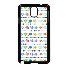 Coral Reef Fish Coral Star Samsung Galaxy Note 3 Neo Hardshell Case (Black)