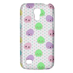 Egg Easter Smile Face Cute Babby Kids Dot Polka Rainbow Galaxy S4 Mini