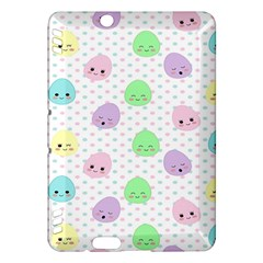 Egg Easter Smile Face Cute Babby Kids Dot Polka Rainbow Kindle Fire HDX Hardshell Case