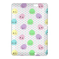 Egg Easter Smile Face Cute Babby Kids Dot Polka Rainbow Kindle Fire HDX 8.9  Hardshell Case