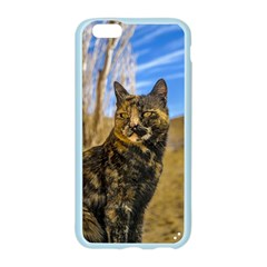 Adult Wild Cat Sitting and Watching Apple Seamless iPhone 6/6S Case (Color)