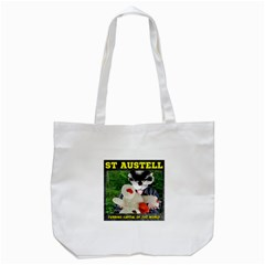 St Austell, Furring Capital of the World Tote Bag (White)