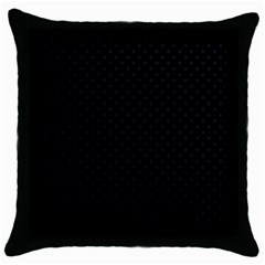 Dots Throw Pillow Case (Black)
