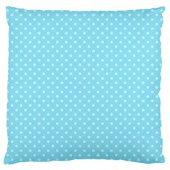 Dots Large Flano Cushion Case (Two Sides)