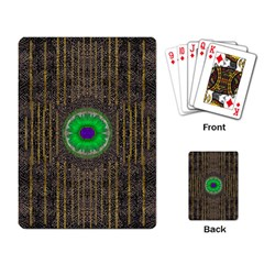 In The Stars And Pearls Is A Flower Playing Card