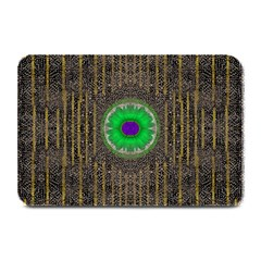 In The Stars And Pearls Is A Flower Plate Mats