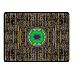 In The Stars And Pearls Is A Flower Fleece Blanket (Small)