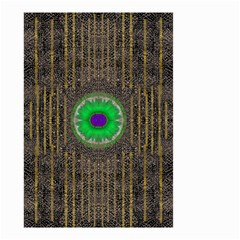 In The Stars And Pearls Is A Flower Small Garden Flag (Two Sides)