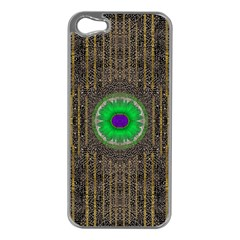 In The Stars And Pearls Is A Flower Apple iPhone 5 Case (Silver)