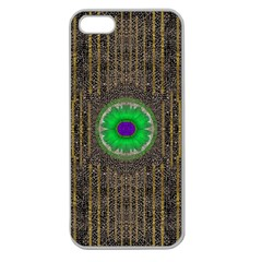 In The Stars And Pearls Is A Flower Apple Seamless iPhone 5 Case (Clear)