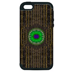 In The Stars And Pearls Is A Flower Apple iPhone 5 Hardshell Case (PC+Silicone)