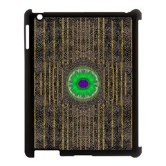 In The Stars And Pearls Is A Flower Apple iPad 3/4 Case (Black)