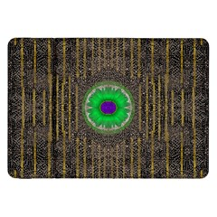 In The Stars And Pearls Is A Flower Samsung Galaxy Tab 8 9  P7300 Flip Case