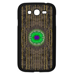 In The Stars And Pearls Is A Flower Samsung Galaxy Grand DUOS I9082 Case (Black)