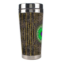 In The Stars And Pearls Is A Flower Stainless Steel Travel Tumblers