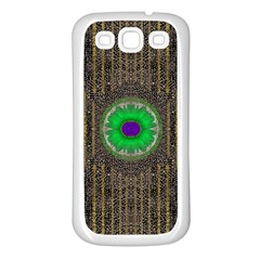 In The Stars And Pearls Is A Flower Samsung Galaxy S3 Back Case (White)
