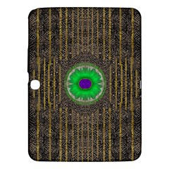In The Stars And Pearls Is A Flower Samsung Galaxy Tab 3 (10.1 ) P5200 Hardshell Case