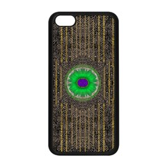 In The Stars And Pearls Is A Flower Apple iPhone 5C Seamless Case (Black)