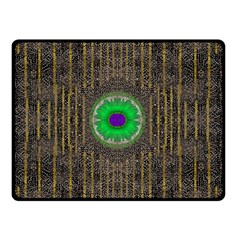 In The Stars And Pearls Is A Flower Double Sided Fleece Blanket (Small)