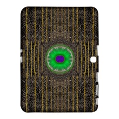 In The Stars And Pearls Is A Flower Samsung Galaxy Tab 4 (10.1 ) Hardshell Case