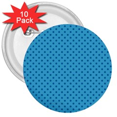 Dots 3  Buttons (10 pack)