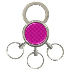 Dots 3-Ring Key Chains