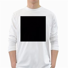 Dots White Long Sleeve T-Shirts