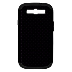 Dots Samsung Galaxy S III Hardshell Case (PC+Silicone)