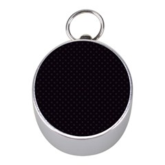 Dots Mini Silver Compasses