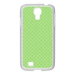 Dots Samsung GALAXY S4 I9500/ I9505 Case (White)