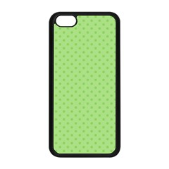 Dots Apple iPhone 5C Seamless Case (Black)