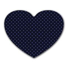 Dots Heart Mousepads