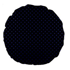 Dots Large 18  Premium Round Cushions