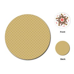 Dots Playing Cards (Round)