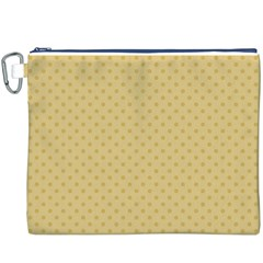 Dots Canvas Cosmetic Bag (XXXL)