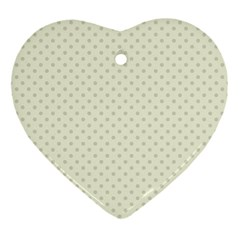 Dots Ornament (Heart)