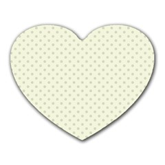 Dots Heart Mousepads