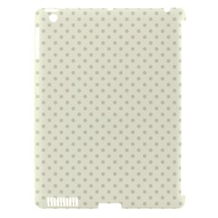Dots Apple iPad 3/4 Hardshell Case (Compatible with Smart Cover)