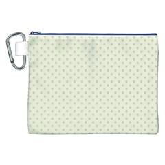Dots Canvas Cosmetic Bag (XXL)