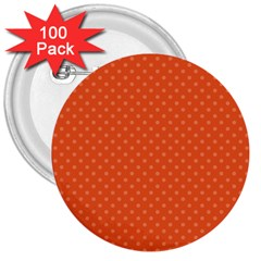 Dots 3  Buttons (100 pack)
