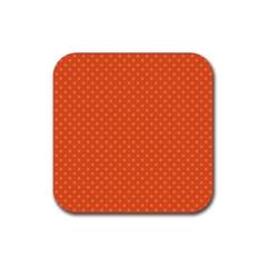 Dots Rubber Coaster (Square)